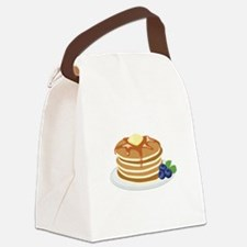 Pancakes Canvas Lunch Bag