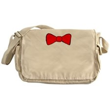 Red Bow Tie Messenger Bag