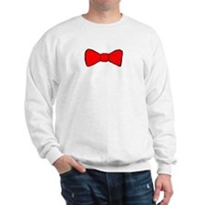 Red Bow Tie Sweatshirt
