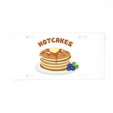Hotcakes Aluminum License Plate