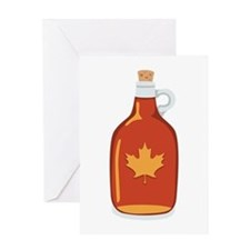 Canadian Maple Syrup Greeting Cards