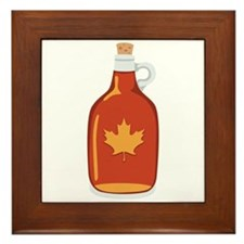Canadian Maple Syrup Framed Tile
