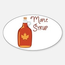 Maple Syrup Decal