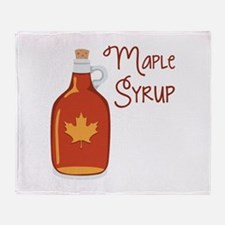 Maple Syrup Throw Blanket