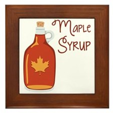 Maple Syrup Framed Tile