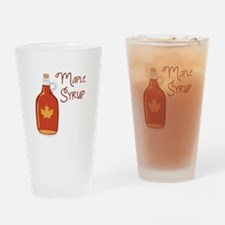 Maple Syrup Drinking Glass