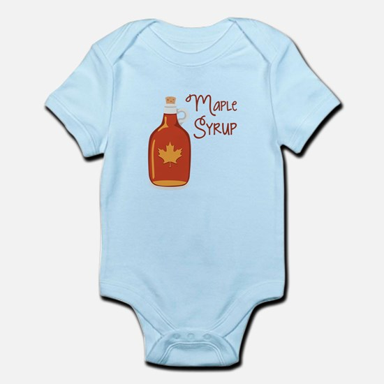 Maple Syrup Body Suit