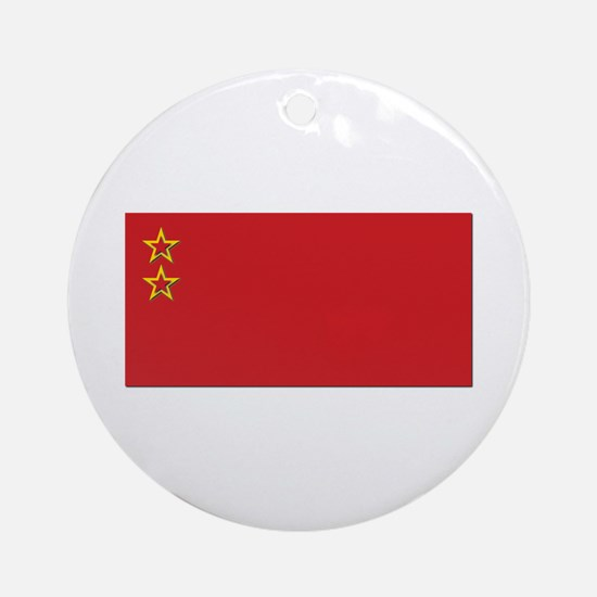 Union State of Russia & Belarus F Ornament (Round)