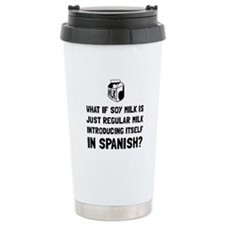 Soy Milk Travel Mug