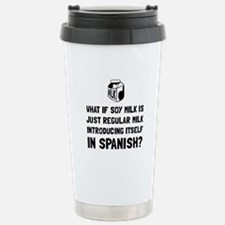 Soy Milk Travel Mug