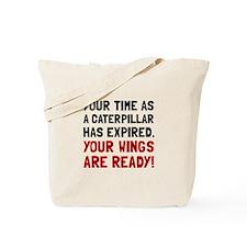 Wings Ready Tote Bag