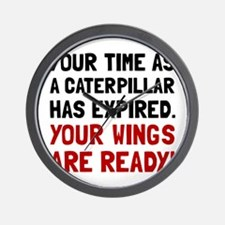 Wings Ready Wall Clock