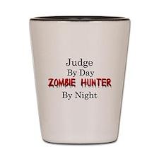 Judge/Zombie Hunter Shot Glass