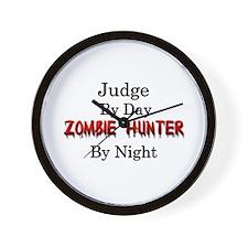 Judge/Zombie Hunter Wall Clock
