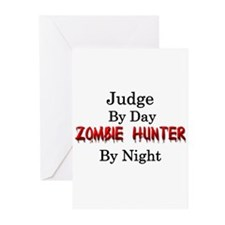 Judge/Zombie Hunter Greeting Cards (Pk of 20)