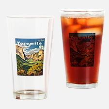 Yosemite Travel Drinking Glass