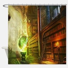 Mystical Library Shower Curtain