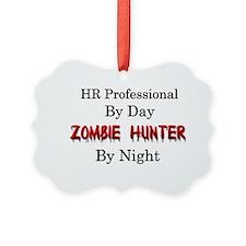 HR Professional/Zombie Hunter Ornament