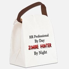 HR Professional/Zombie Hunter Canvas Lunch Bag