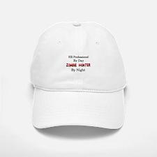 HR Professional/Zombie Hunter Baseball Baseball Cap