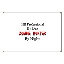 HR Professional/Zombie Hunter Banner