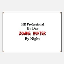 HR Professional/Zombie Hunter Banner