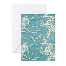 William Morris Tulip Greeting Cards