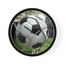 Soccer Goal Wall Clock