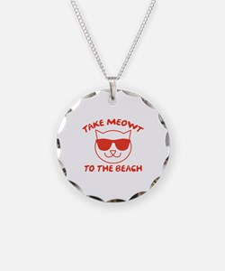 Take Meowt To The Beach Necklace
