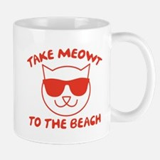 Take Meowt To The Beach Mug