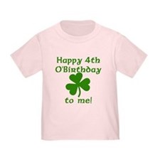 Happy 4th O'birthday To Me T