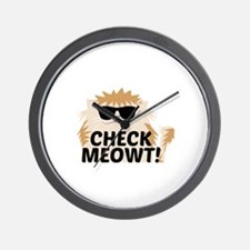 Check Meowti Wall Clock