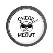 Check Meowti Wall Clock
