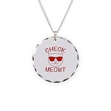 Check Meowti Necklace