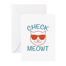 Check Meowti Greeting Cards (Pk of 10)