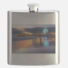 SANTA MONICA PIER Flask