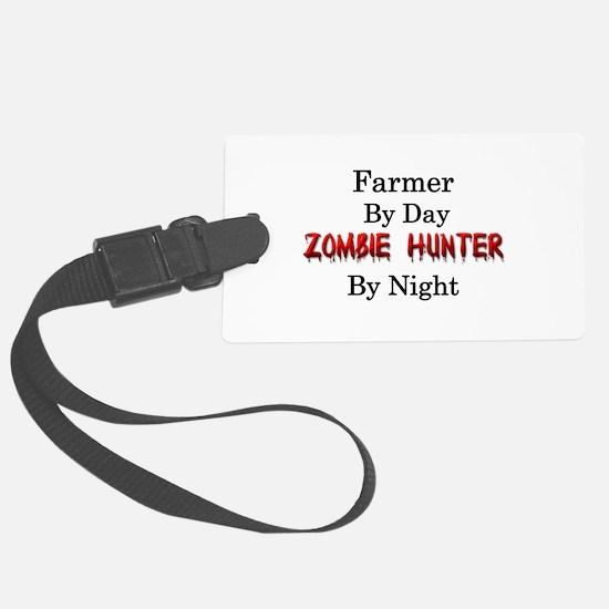 Farmer/Zombie Hunter Luggage Tag