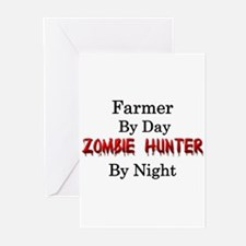 Farmer/Zombie Hunter Greeting Cards (Pk of 10)