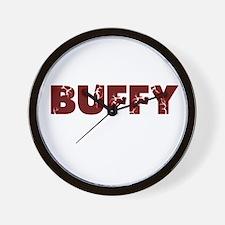 Buffy Wall Clock