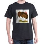 Bourbon Red Tom Turkey Dark T-Shirt