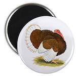 Bourbon Red Tom Turkey Magnet