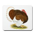 Bourbon Red Tom Turkey Mousepad