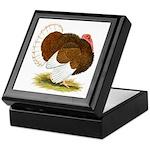 Bourbon Red Tom Turkey Keepsake Box