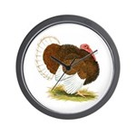 Bourbon Red Tom Turkey Wall Clock