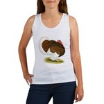 Bourbon Red Tom Turkey Women's Tank Top