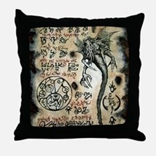 Spawn of Cthulhu Throw Pillow