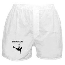 Dancing Is Life Boxer Shorts