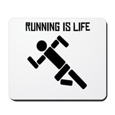 Running Is Life Mousepad