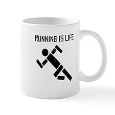 Running Is Life Mugs