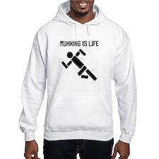 Running Is Life Hoodie